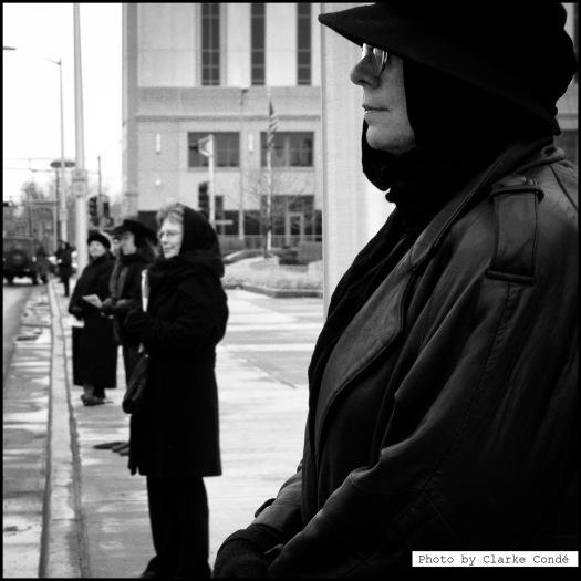 Albuquerque Woman in Black