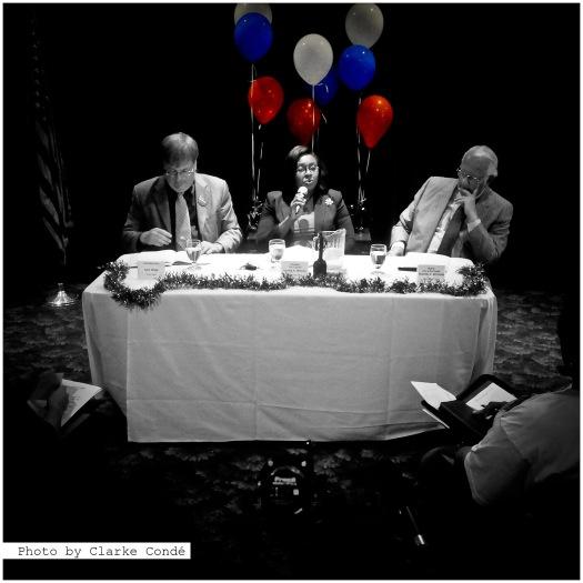 Debate photos can be fun