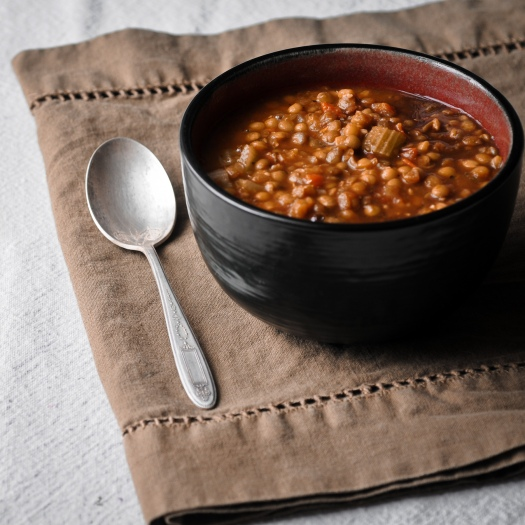 Balsamic Lentil Soup