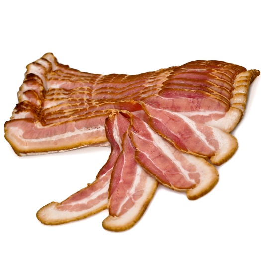 fruitwood smoked bacon
